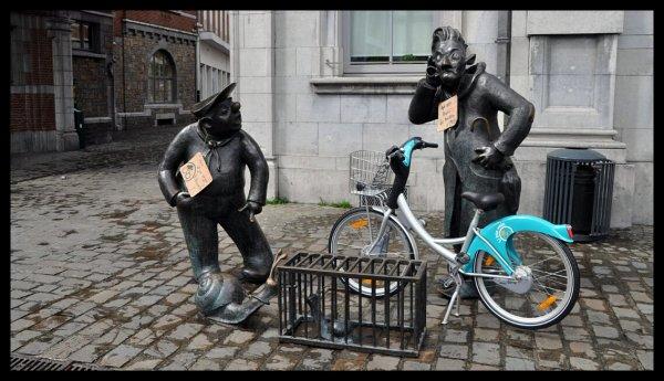 Extrait du bia vélo...euh pardon, bia bouquet de Christian Delwiche du 15 au 21 avril 2012