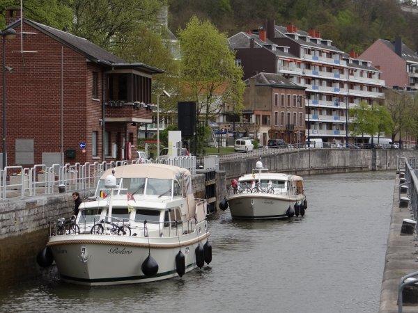 BOLERO (CH), SAMBA (CH), ERNA II (NL),...    - AquaNomade: Hypothèques fluviales en Belgique...