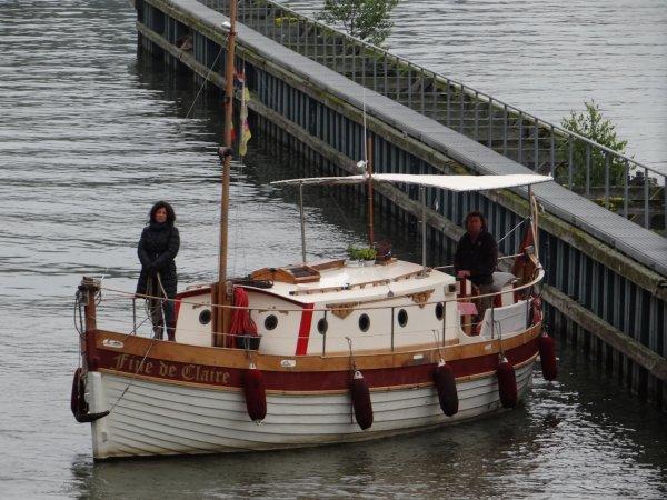 GO PORT (B), VAQUEROS (F), NOMADIS (B), TAIFUN (D), MON DESIR (NL), FINE DE CLAIRE (D), ... parmi les 25 bateaux du 13 juin 2012