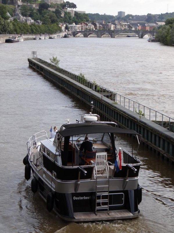 Débit Haute Meuse stabilisé et pluviométrie importante sur La Plante... - Dernière pause matinale avant reprise le w-e. prochain...