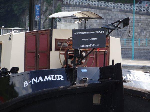 Namur, d'un port à l'autre...