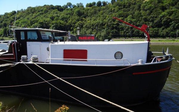 Sclayn, PAREATIS - Le bateau du fils de l'arpenteur des berges, Pierre Lemoine.