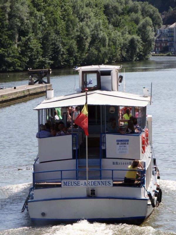 LA PLANTE  suite du 1er août 2012, après le SABRINA (B), TESCO 3 (NL), ELISE (NL), QWAIHR (NL), ZEELEUW (B), ORLANDO (B), MEUSE-ARDENNES (B), CATANIA (B), ORRADA (B), parmi les 52 bateaux de la journée.