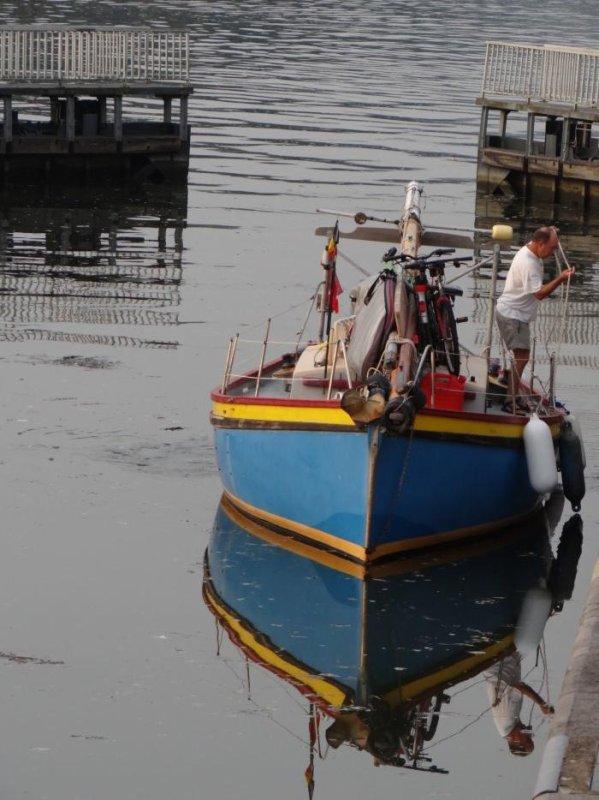 Le RAYPA en 1ère ce 21 août à 6h00 suivi de GROSSO (GB), DC MOSA 1 (NL), ST.MICHEL (B), CORNELIS B (NL), BEUTJE II (NL), OUBIEN (B), BAMA II (B), MEERMIN (B), INDIGO (B), ... parmi les bateaux de la pause matinale (1ère partie)