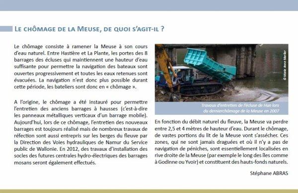 """Opération """"Meuse Propre"""" samedi 22 septembre - Renseignements & inscriptions: 081/776732 - Contrat de Rivière Haute-Meuse."""