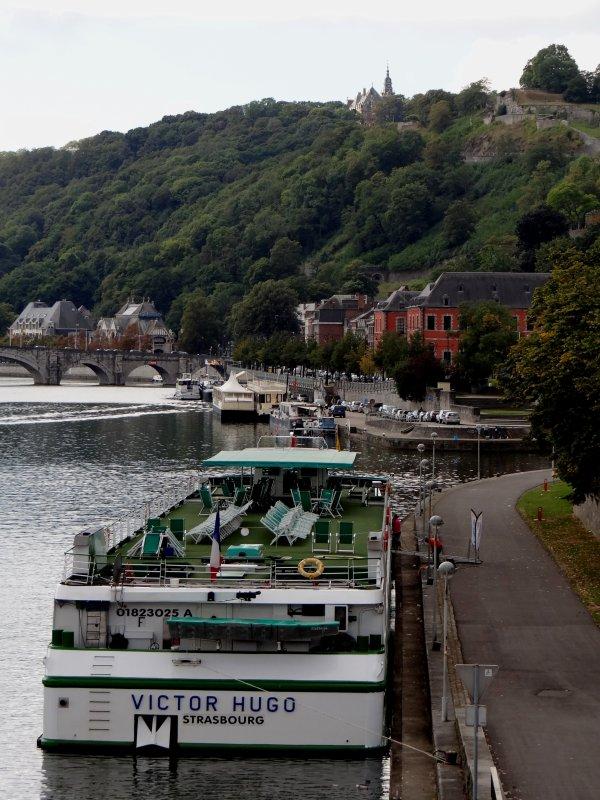 Namur, son tourisme fluvial en ce 1er. week-end automnale