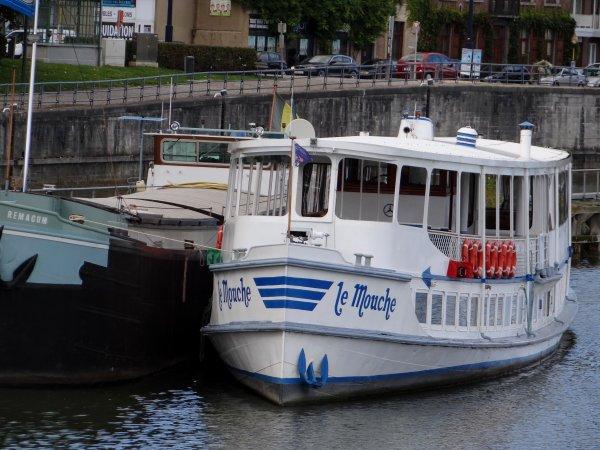 Derniers jours avant la remise à flottaison des biefs de la Haute-Meuse, prévue pour le lundi 8 octobre à 6h.