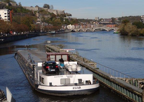 OSIVA (B), PETRA (NL), NAXOS (B), LOANA CALISTA (B),  parmi les 9 bateaux de ce 31 octobre 2012.