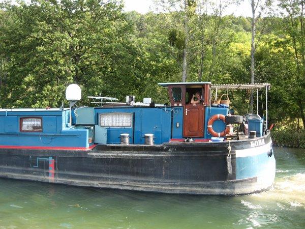 Voyage du LOMA  - 09/2012 (2/2)  Canal de la Marne à la Saône - Champagne-Bourgogne.