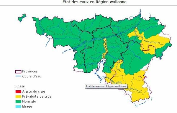 """La Haute-Meuse en phase de pré-alerte de crue (+ de 600 m³/sec) et arrêt de navigation pour les avalants.  De nouvelles images d'autrefois sur """"Meuse Sambre Namur"""", offertes par les Archives Photographiques Namuroises  ;)"""