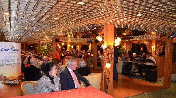 Soirée de Gala pour CROISIEUROPE Belgique au pied de la citadelle namuroise et journées portes ouvertes ces 19 et 20 mars 2013 à bord du LEONARDO DA VINCI (F).
