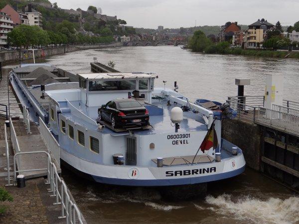Parmi les 28 bateaux (24 sassées); AQUAMARIJN, GIANA, MELISSA, SABRINA, EDDA, ASDETA, LINCY, PAT-VERO - Le nouveau KAIROS navigue, c'est reparti ;)  .