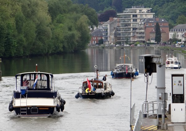 BEATI, DEO VOLENTE, PAPONTOLIE, MOR BREIZ, JALIN, BREAK OF DAWN, FATIMA II, EOLE, FOLLOW ME,  parmi les bateaux de la pause matinale du samedi 18 mai 2013.