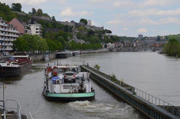 Deux SAPHIR sur la Haute-Meuse, avec le retour de Luc... Gens d'à terre, cela ne pouvait pas le faire!  ;) - extrait de l'après-midi; CHRIS-LI, SAPHIR (ex. HENNY), BAARS, FLAMINGO, CINCLUS, MS ELISABETH, RABELO, MISONDA, ...