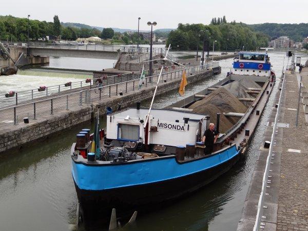 Extrait de l'après midi du 11 juin 2013; B-55315 bateau sondeur, ERNA II (NL), LADY M (NL), KIROLA (B), DIALASA (B), DWALPER (D), LINCY (B), BATTELLO (NL), MISONDA (NL).
