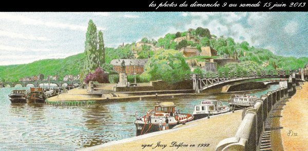 Extrait de la dominicale du 16 juin 2013; TIGER, CAPELOU, MEUSE-ARDENNES, LA VALSE LENTE, PANTA RHEI,  LIBERTY, ADRIANA,  ...