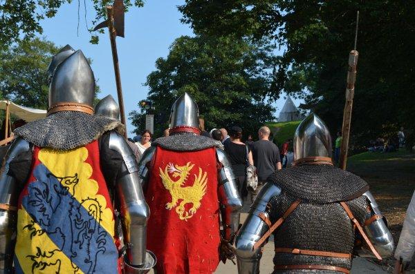 Week-end estival et Médiévales de la citadelle à Namur  ;)