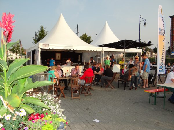 Belle ambiance sur l'esplanade du Grognon en ce début de  week-end, les amateurs de bonnes bières ont été choyés ;)