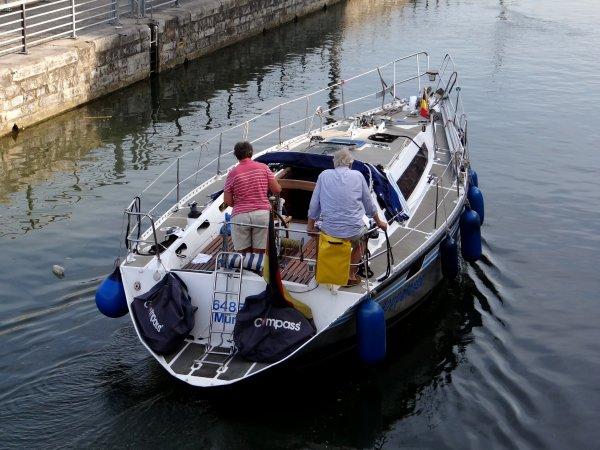 L'original OP H/V ZEGEN 1890 HAERST parmi les 38 bateaux du 16 juillet 2013.