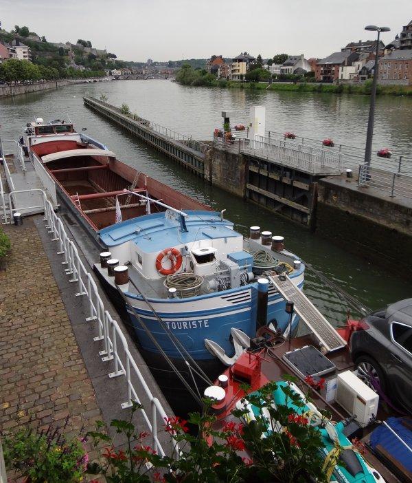 Le convoi TOURISTE-AQUILA (F) à destination de Givet,  avant l'arrivée de la 15ème randonnée des Citadelles Sedan-Namur