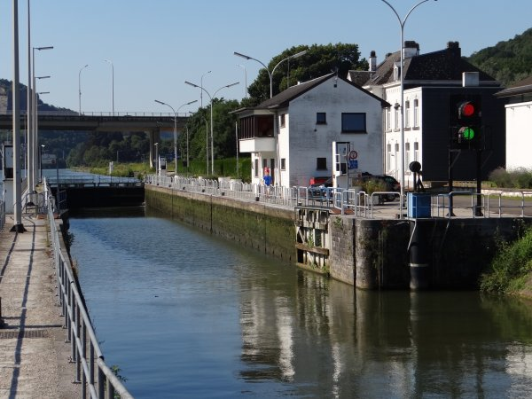 Petite balade matinale autour du bief de Tailfer-La Plante, avant la canicule de l'après-midi (34° à l'ombre)