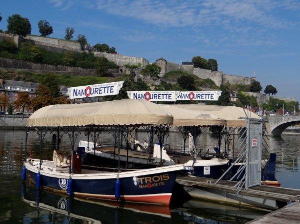 L' apéro avec Dédé pour cette dernière semaine au port Henri-Hallet, avant son départ pour Huy  ;)