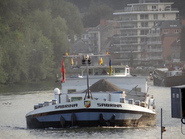 ORISSA, WOFRARI, EUROPA, L'AJONC, CHRIS-LI, BATTELLO, SABRINA, parmi les 18 bateaux du jour.