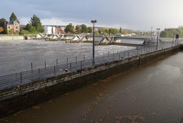 Régime de navigation sur la Haute-Meuse et consignes des barrages (ex. La Plante)