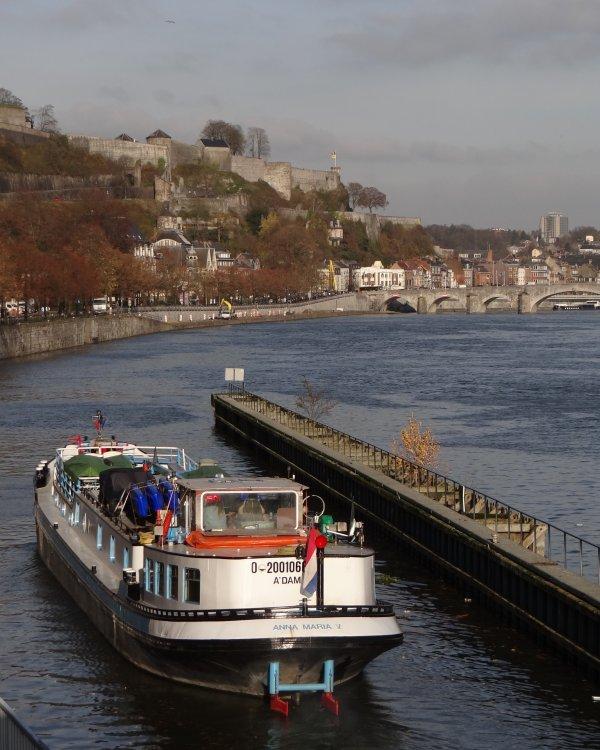 Le 1er. du mois de décembre, ANNA MARIA V (NL- Amsterdam) est de retour de Bourgogne - Fluvial 238 - Le numéro double de Noël est en librairie avec son calendrier 2014  ;)