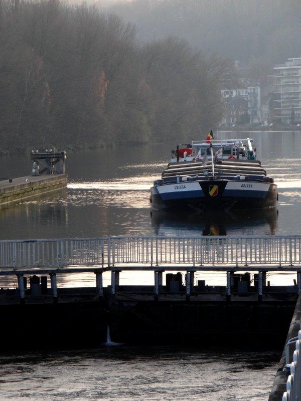 Pas de bois en provenance de Riga (Lettonie) via Ostende, ce jeudi 12 décembre 2013, pour cause de fermeture de l'écluse de Mornimont (Sambre) suivant avis n° 2013/317/01 du 3/12/2013