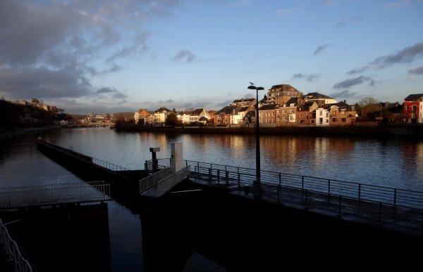 Les plus courtes journées sur la Meuse namuroise...