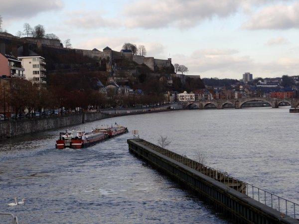 Le convoi ELODIE-ALEXIS (F) St.Mammes, est de retour de Givet avec de l'oxyde d'aluminium, destination Le Havre.