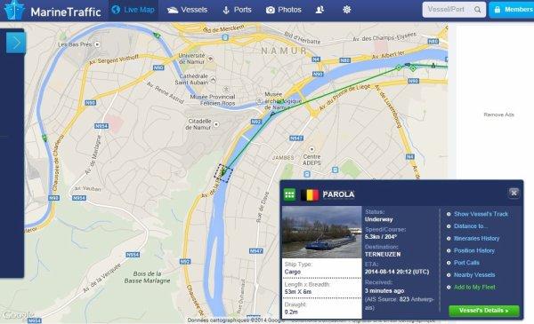 PAROLA en première ce samedi 22 février 2014   -  Namur ok pour les quais à partir du 1er. mars! (Canal C) -  Examen pour le brevet de conduite pour la navigation de plaisance...