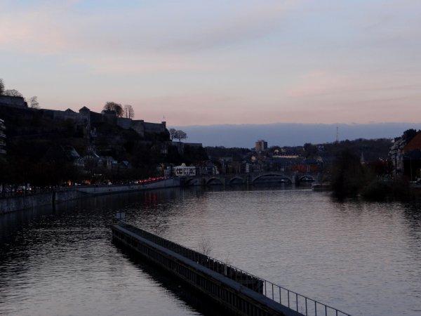 Après le charbon de Rotterdam, c'est la cellulose depuis Vlissingen qui revient vers Givet... Et enfin un trafic normal pour la saison. La visite de ma petite fille adorée   ;)