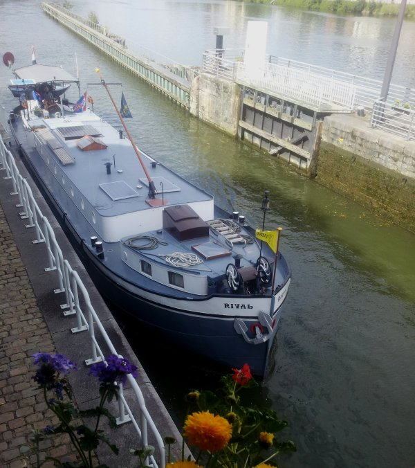 Cindy (F) avec 240t. de Coils en provenance de La Louvière et à destination de Reims...  SMU, CATHARE & SPIRIT (F) depuis l'Escaut à la Meuse française...  ;)