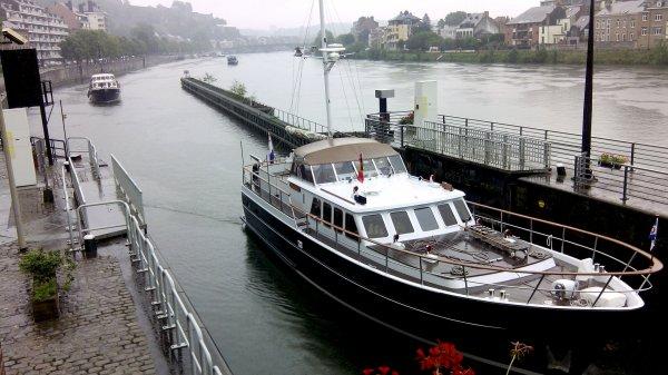 Retour au poste... 44, c'est le nombre de bateaux relevés à La Plante le 21 juillet et le record actuel pour 2014!  (113 bateaux le 21/07/2006, dont 107 bateaux de plaisance ou assimilés)