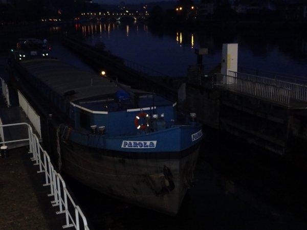 PAROLA à l'ouverture, AMPHIRA, KEDYS, et le MS ELISABETH parmi les bateaux de la pause matinale de ce vendredi 8 août 2014