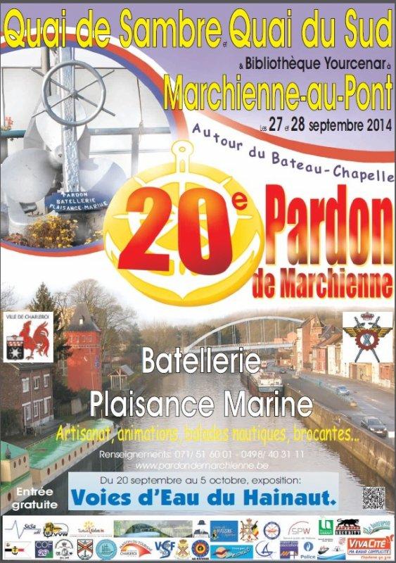 """20è. Pardon de Marchienne, les 27 & 28 septembre - Les """"Wallonie"""" à Namur du 15 au 22 septembre  ;)"""