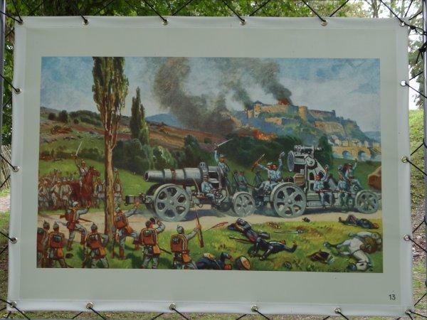 Namur au temps de la Grande Guerre - Une belle exposition à la Citadelle de Namur, à ne pas rater! (accès libre entre mai et octobre 2014)