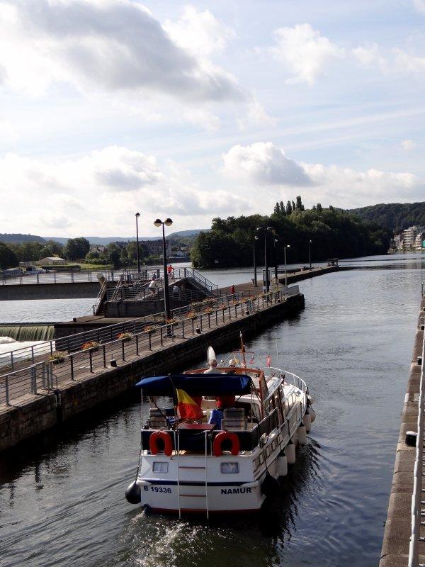 Faible trafic et interruptions pour cause de show nautique dans la piste de vitesse de Wépion (10h à 18h), mais du monde sur le Ravel ce dimanche 24 mai 2014.