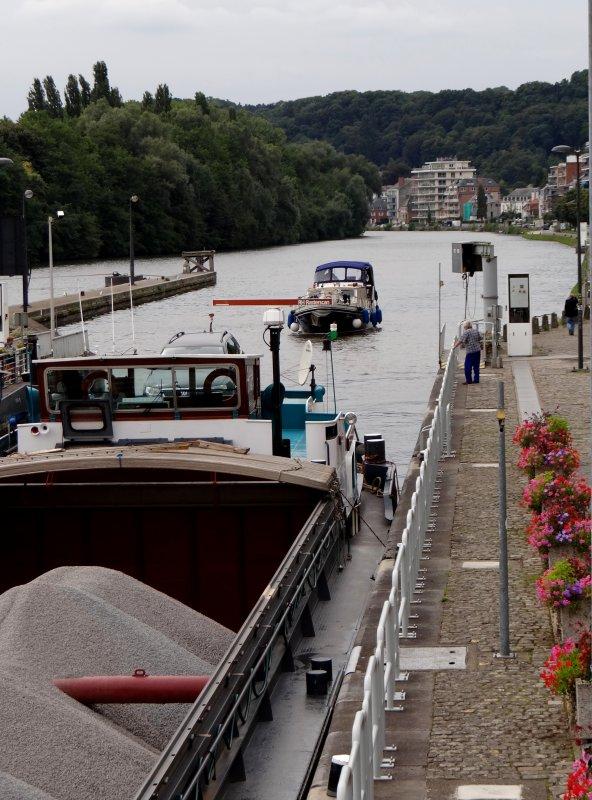 Extrait du dernier lundi d'un mois d'août pluvieux... avec 31 bateaux dont 8 marchands.
