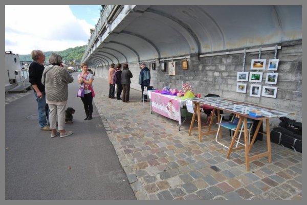 """Accès libre vers le monde artistique ce weekend avec """"Intersections Bister"""" à Jambes et le """"Quai des Arts"""" à Namur   ;)"""