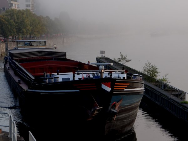 TEMPOREEL, NOMADIS, SUNSHINE, MARGA & AMORSITA,  les bateaux marchands de la pause matinale du 17 septembre 2014
