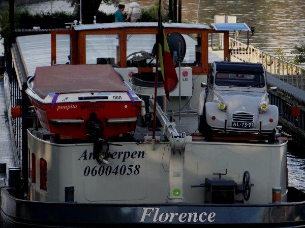 FLORENCE est de retour de Dinant...