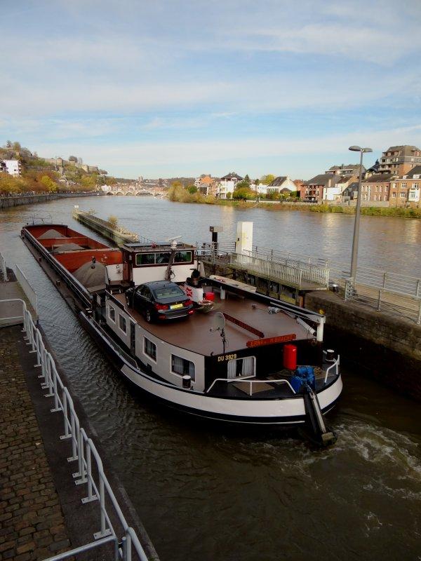 L'unique de ce jeudi 13 novembre pour un aller-retour LUSTIN (Sagrex), ERNA II