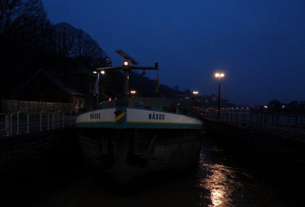 NAXOS en 2è. ce 22 janvier 2015 sur la Haute-Meuse...  - La nouvelle écluse d'Ivoz-Ramet, opérationnelle au mois d'avril prochain... (RTBF) -  Actualité > Informations générales DGO2  > Coordonnées des Directions et Districts...
