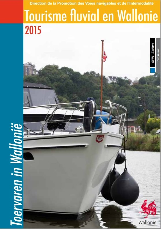 Tourisme fluvial en Wallonie (2015)