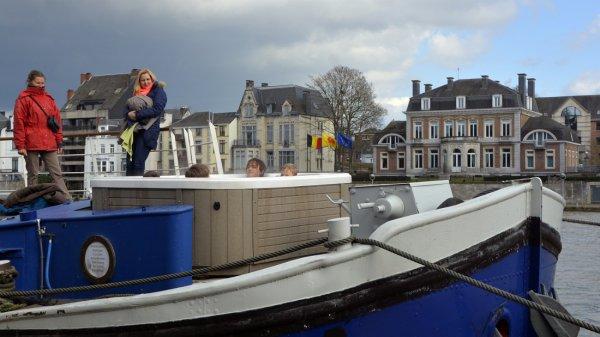 VOYE DO CIR depuis Givet avec de l'orge pour la brasserie de Lieshout...