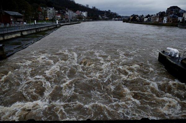 Suivez l'état des eaux en Wallonie sur la carte InfoCrue   ;)