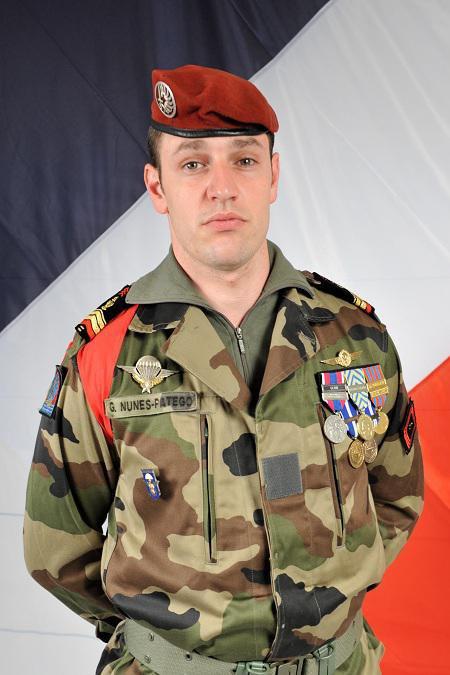 Caporal-chef Guillaume Nunes-Patego  mort pour la France